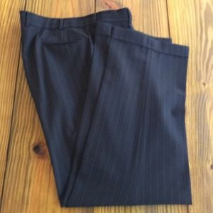 Brooks Brothers Grey Pinstripe Suit Pants,38R, EUC